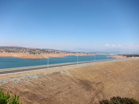 Don Pedro Reservoir Lake , La Grange, California Stok Fotoğraf - 23087715