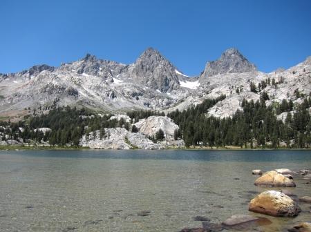 The Ansel Adams Wilderness in the Sierra Nevada of California, USA