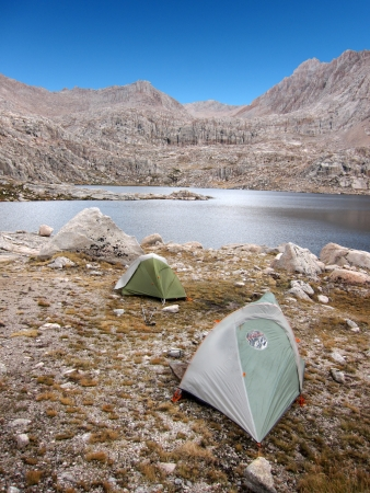 Camping in the wilderness Stok Fotoğraf - 23128960