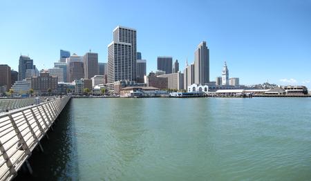 San Francisco downtown cityscape