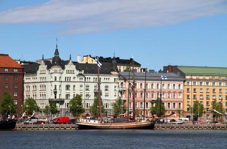 Old Town Helsinki Finland Stok Fotoğraf - 41648664