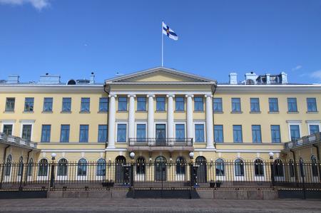 helsinki: Presidential Palace of Finland Helsinki Editorial