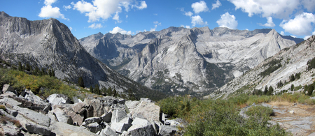 John Muir and Pacific Crest Trails in Kings Canyon National Park