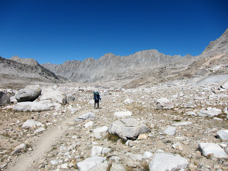 sierra: Hiking in Kings Canyon National Park