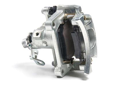 New Brake Caliper isolated on a white background. Reklamní fotografie