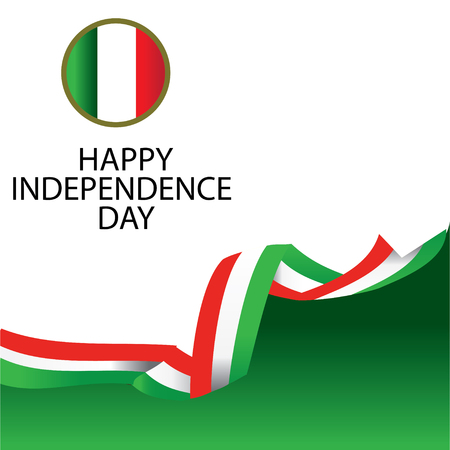 Italy Independence Day Vector Template Design Illustration - Vector