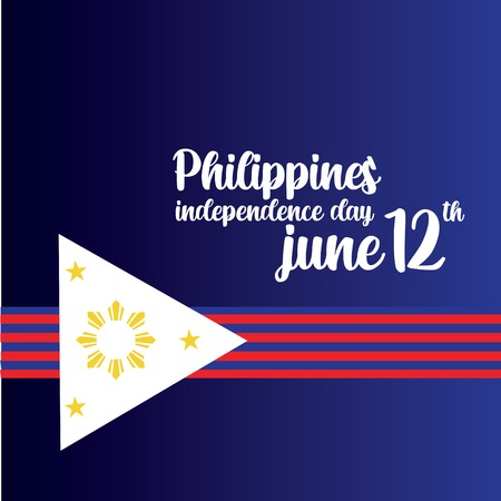 Philippines Independent Day Vector Template Design Illustration - Vector