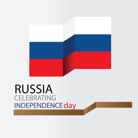 russia celebrating Standard-Bild - 122636641