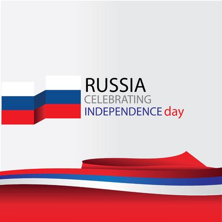 russia celebrating Standard-Bild - 122636645