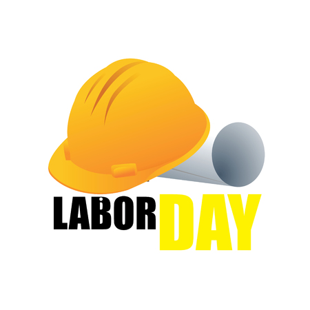 Happy Labor Day banner. Design template. Vector illustration - Vector Illustration