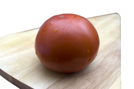 intensely: The tomato is botanically a fruit
