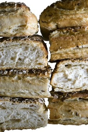 puffed: Puffed pastry with sesame seeds and cumin