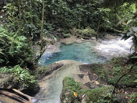 Waterfall in Nabire Papua Indonesia Stock Photo - 120937190