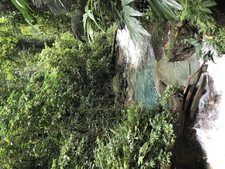 Waterfall in Nabire Papua Indonesia Stock Photo - 120937213