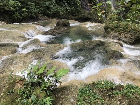 Waterfall in Nabire Papua Indonesia