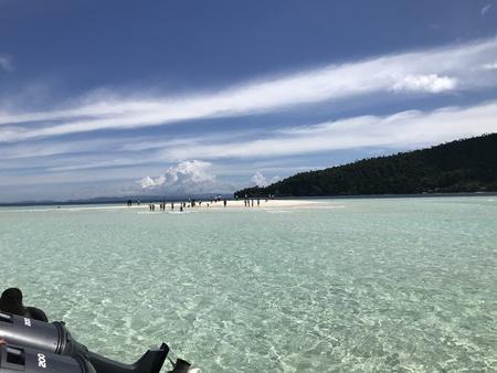 Pasir Timbul in Raja Ampat Papua Indonesia Stock Photo