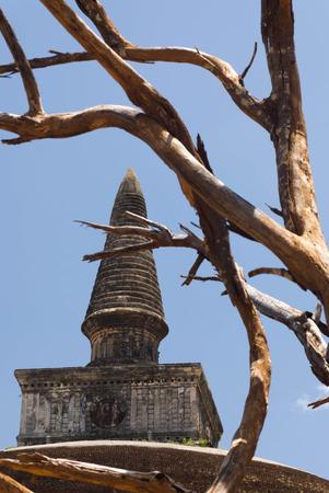 vihara: Rankoth Vihara, Polonnaruwa, Sri Lanka Stock Photo