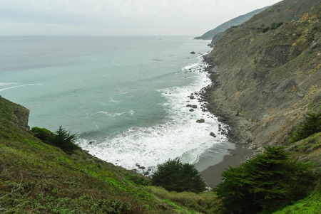 big sur: Big Sur and vicinity, Pacific coast, California, USA Stock Photo