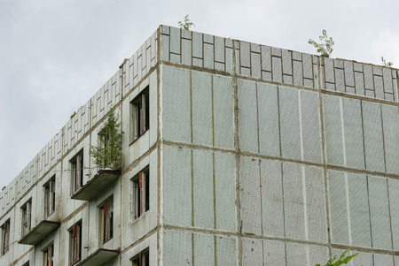 barracks: Abandoned Soviet barracks, Milovice, Czech Republic