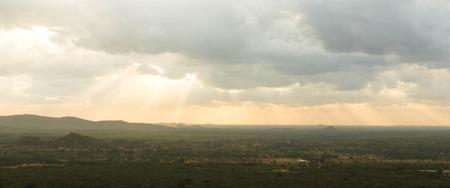 sigiriya: A view from Sigiriya rock, Sri Lanka