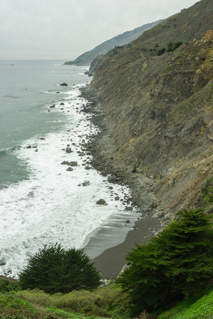 vicinity: Big Sur and vicinity, Pacific coast, California, USA Stock Photo