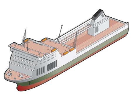 ship icon: Icona della nave traghetto. Design Elementi 41g, ITSA immagine ad alta risoluzione con STAMPA PATH per rimuovere sfondo facile se lo si desidera.