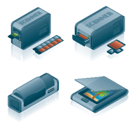 Computer Hardware Icons Set - Design Elements 55h, it�s specially designed with a web designers in mind to achieve PIN SHARP ICONS ON A SCREEN Stock Vector - 825825