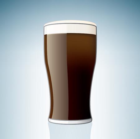Beer Glass (parte del set di icone Alcohol Glass)  Vettoriali