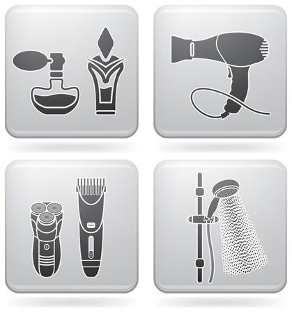 Badezimmer-Geschirr