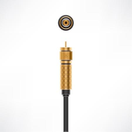 F Connector  plug & socket