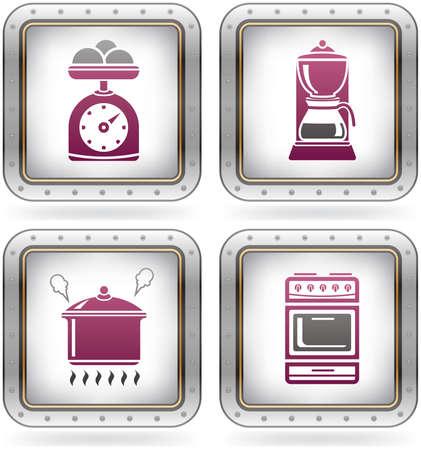 Everyday Kitchen Utensils & Tools Vector