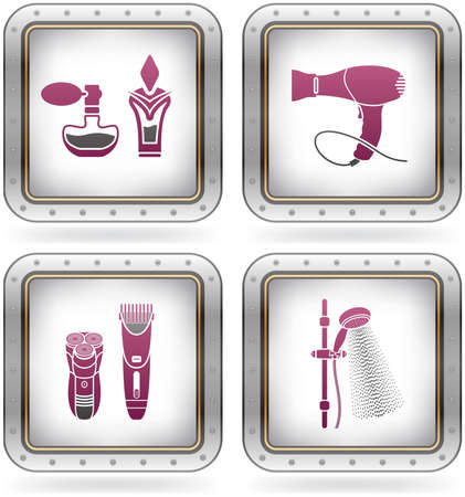 Bathroom Utensils and other related everyday things Vector