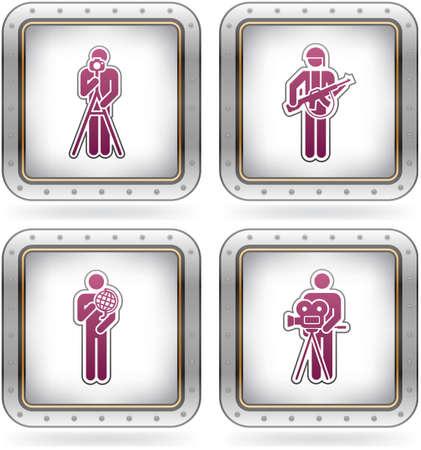 trooper: Man at Work Illustration