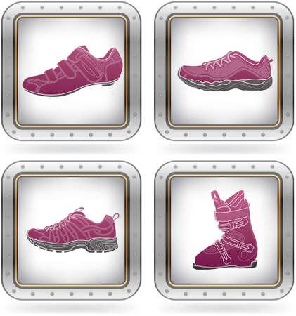 skying: Sports footwear