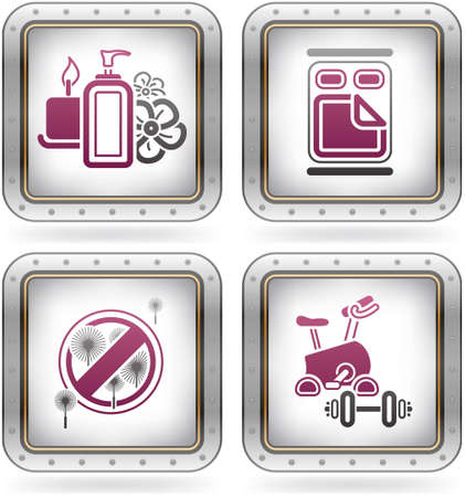hypo: Various camping icons