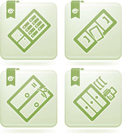 olivine: Office Supply Icons Set