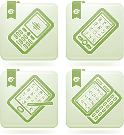 olivine: Office Supply Icons Set (part of the Olivine Squared 2D Icons Set)