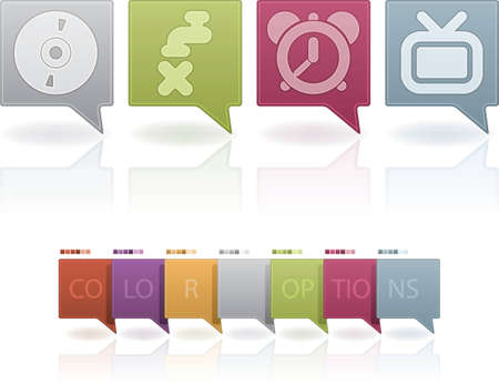 stopcock: Miscellaneous Web Icons Set Illustration