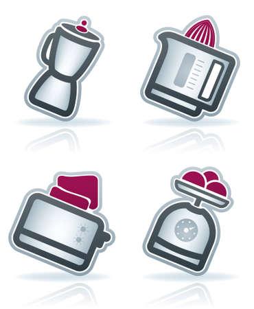 Home Appliances: Kitchen Vector