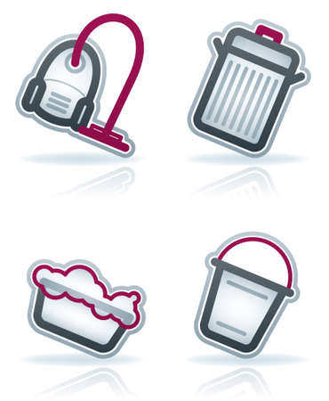 Cleaning theme icons