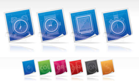 stopper: Office Supply Icons Set