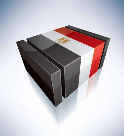 Arab Republic of Egypt Vector
