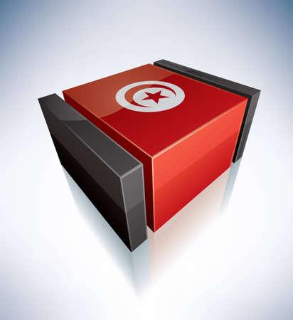 tunisian: Tunisian Republic Illustration