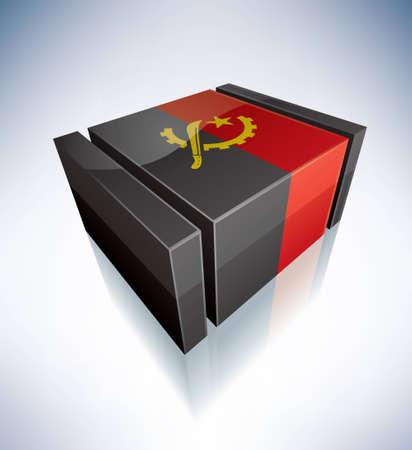 angola: Republic of Angola Illustration