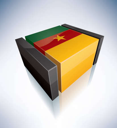 cameroon: Republic of Cameroon Illustration