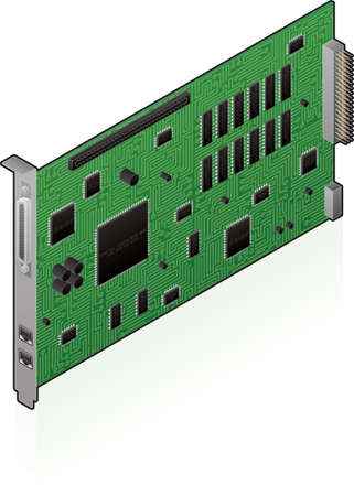 internal network card Vector