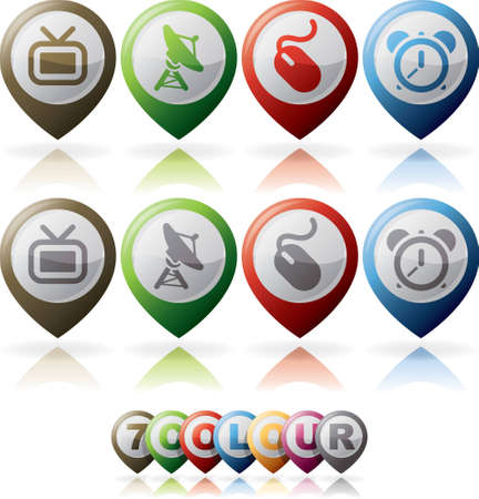 stopcock: Miscellaneous internet  web  icons set