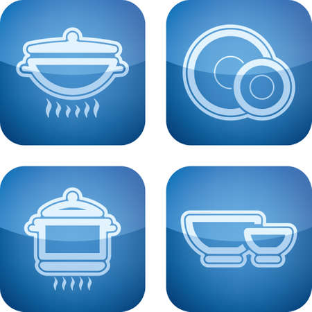 Kitchen related Objects Vector
