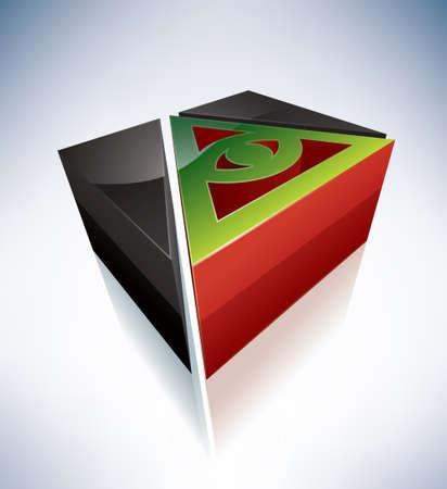 dai: Three-dimensional religion symbols  Cao Dai