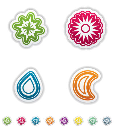 Weather Icons Set Stock Vector - 15191470